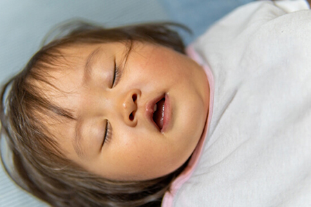 「お口ポカン」口呼吸を鼻呼吸へ促します